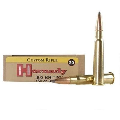 Hornady Ammo Superformance 303 British Spire Point