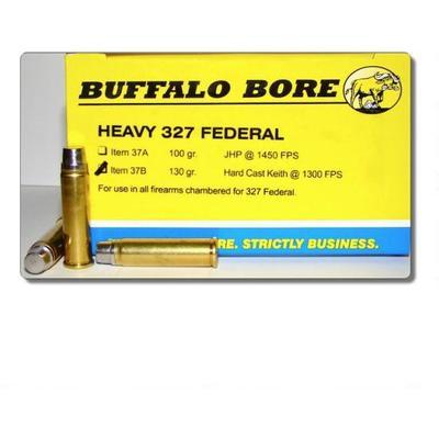 Buffalo Bore Ammo 327 Federal Magnum Hard Cast Keith 130 Grain [37B