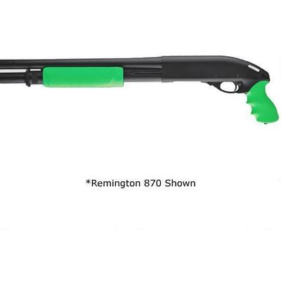 Hogue Mossberg 500 Rubber Tamer Grip/Forend Zombie Green [05019
