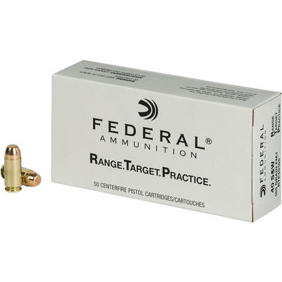 Federal Ammo Range and Target 40 S&W 165 Grain