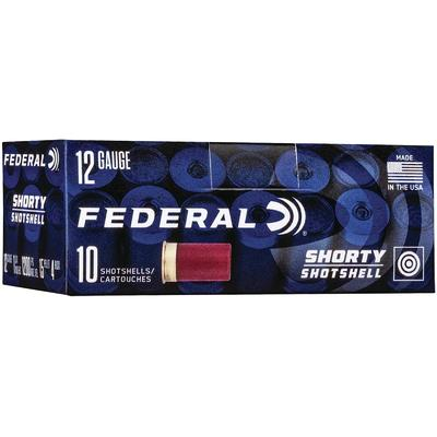 Federal Shotshells Shorty 12 Gauge 1.75in #4-Shot