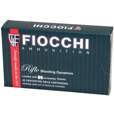 Fiocchi Ammo Shooting 270 Winchester PSP 130 Grain