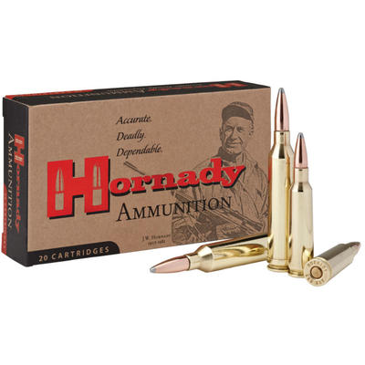 Hornady Ammo InterLock 250 Savage 100 Grain SP 20