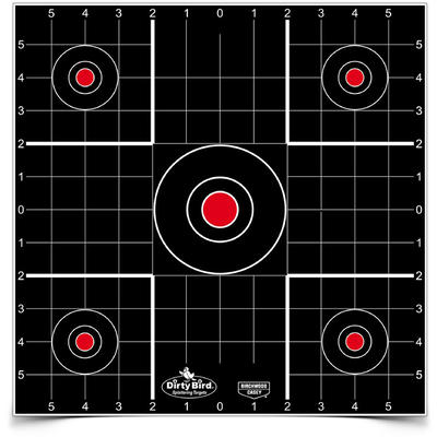 Birchwood Casey Dirty Bird Sight-In 12in Target 12