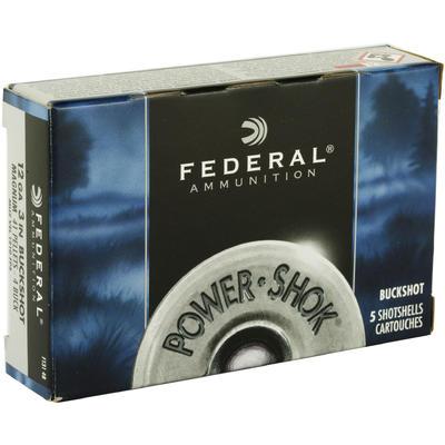 Federal Shotshells Power-Shok 12 Gauge 3in 41 Pellets #4