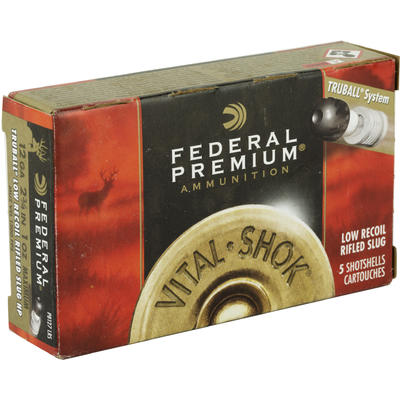Federal Shotshells Vital-Shok 12 Gauge Rifled Slug 2 75in