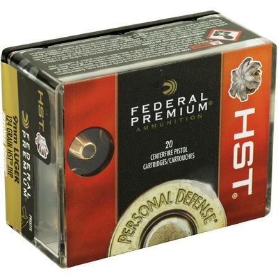 Federal Ammo Defense 9mm 124 Grain HST [P9HST1S] | Ammo Freedom