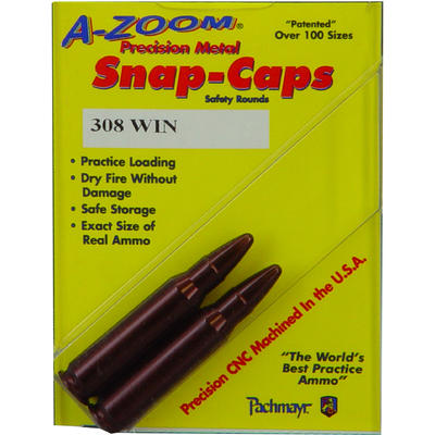 A-Zoom Dummy Ammo Snap Caps Rifle 308 Winchester A
