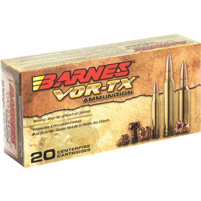 Barnes Ammo Vor-Tx 223 Rem 55 Grain TSX Flat Base [21520 ...