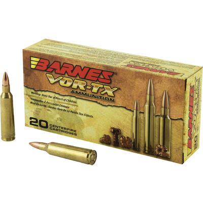Barnes Ammo Vor-Tx 22-250 Rem 50 Grain TSX FB [22008 ...