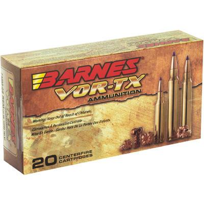Barnes Ammo Vor-Tx 7mm-08 Rem 120 Grain TSX Boat Tail ...
