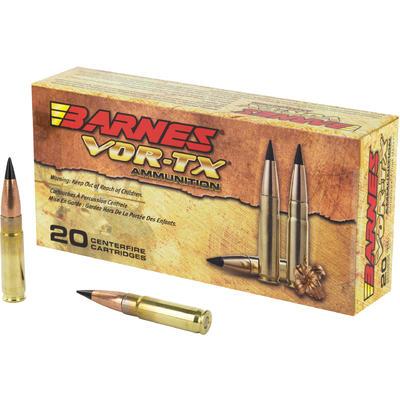 Barnes Ammo Vor-Tx 300 Blackout/Whisper 110 Grain TAC-TX ...