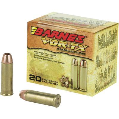 Barnes Ammo Vor-Tx Handgun Hunting 44 Magnum XPB 225 Grain ...