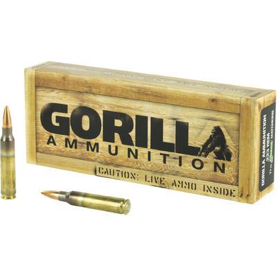 Gorilla Ammo 223 Rem 77 Grain BTHP Sierra MatchKing