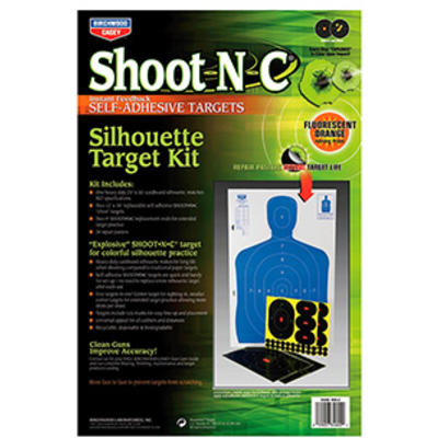 Birchwood Casey Shoot-N-C Silhouette Target Kit 1