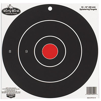 Birchwood Casey Dirty Bird 12in Targets 12-Pack [3