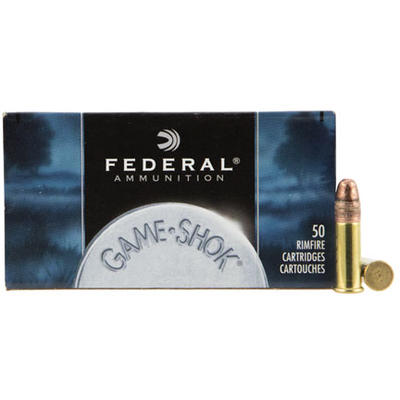 Federal Rimfire Ammo Game-Shok .22 Long Rifle (LR)
