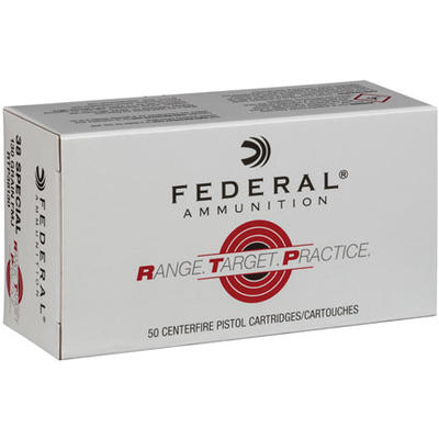Federal Ammo Range and Target 38 Special 130 Grain