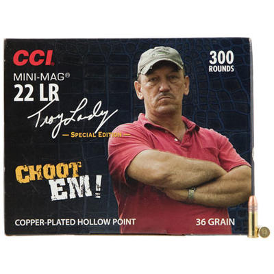 CCI Rimfire Ammo Troy Landry .22 Long Rifle (LR) M