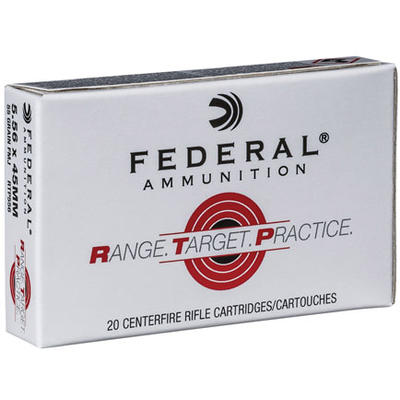 Federal Ammo Range and Target 223 Rem (5.56 NATO)