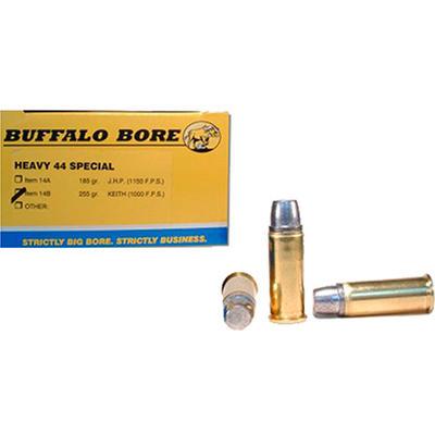 Buffalo Bore Ammo 44 Special JHP 180 Grain [14A/20]   Ammo Freedom