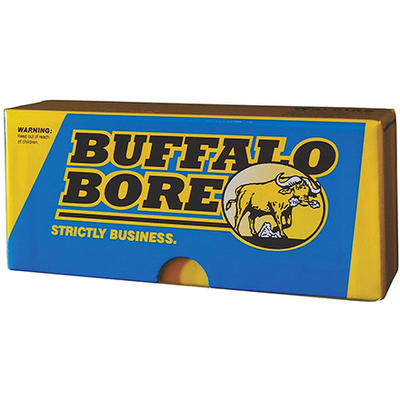 Buffalo Bore Ammo 45-70 Government Hard Cast Lead Flat Nose 430