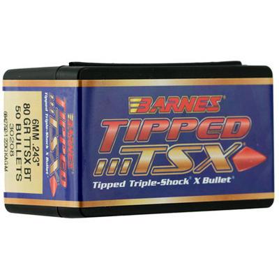 Barnes Reloading Bullets 25 Caliber .257 100 Grain TTSX BT ...