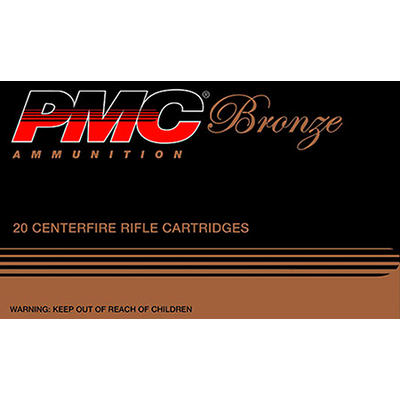 PMC Ammo Bronze 50 BMG FMJBT 660 Grain 10 Rounds [