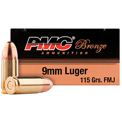 PMC Ammo Battle Pack 9mm FMJ 115 Grain [9ABP] | Ammo Freedom