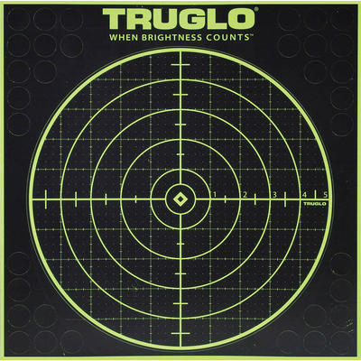 Truglo TRU-SEE TARGET 100YRD 6-Pack [TG10A6]