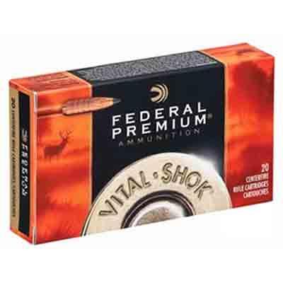 Federal Ammo Vital-Shok 243 Win Trophy Copper 85 Grain