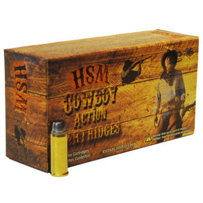 HSM Ammo 38-40 Winchester 180 Grain RNFP 20 Rounds