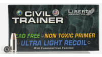 Liberty Ammo Civil Trainer 9mm 65 Grain 50 Rounds