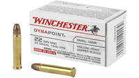Win Ammo dynapoint .22 wrm 1550fps. 45 Grain dynap