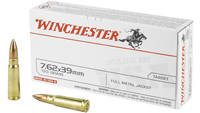 Winchester Ammunition USA 762x39 123 Grain Full Me