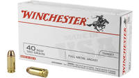 Winchester Ammo Best Value 40 S&W 180 Grain FM