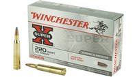 Winchester Ammo Super-X 220 Swift 50 Grain PSP 20