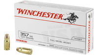 Win Ammo usa .357 sig 125 Grain fmj-rn 50 Rounds [