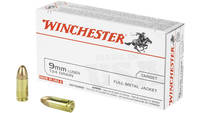 Winchester Ammo Best Value 9mm 124 Grain FMJ 50 Ro