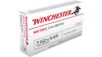 Winchester Ammo Metric 7.62x54mm Russian 180 Grain