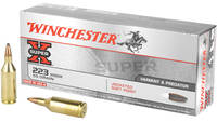 Win Ammo super-x .223 wssm 55 Grain jsp 20 Rounds
