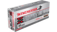 Win Ammo super-x .25 wssm 120 Grain positive exp.