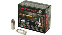 Winchester Ammo Elite PDX1 Defender 40 S&W Bonded