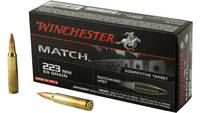 Win Ammo supreme .223 rem 69 Grain hpbt match 20 R