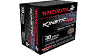 Winchester Ammo Kinetic High Energy 38 Special 110