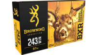 Browning Ammo BXR Rapid Expansion 243 Winchester 9