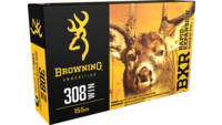 Browning Ammo BXR Rapid Expansion 308 Winchester 1