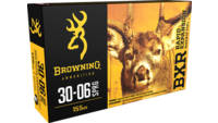 Browning Ammo BXR Rapid Expansion 30-06 Springfiel