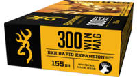 Browning Ammo BXR Rapid Expansion 300 Win Mag 155