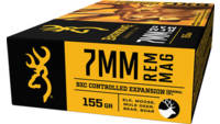Browning Ammo BXC Controlled Expansion 7mm Magnum